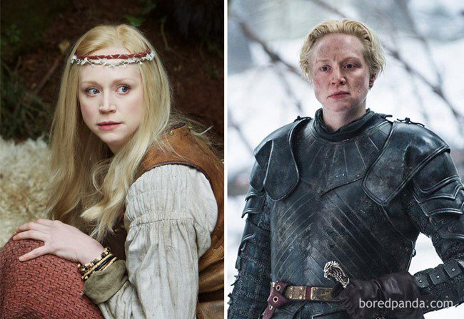 4) Gwendoline Christie, mint Lexi (Wizards Vs. Aliens - 2012) és, mint Brienne