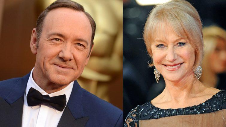 A hét színészei - Kevin Spacey és Helen Mirren