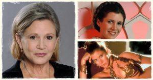 Érdekességek Carrie Fisher színésznőről