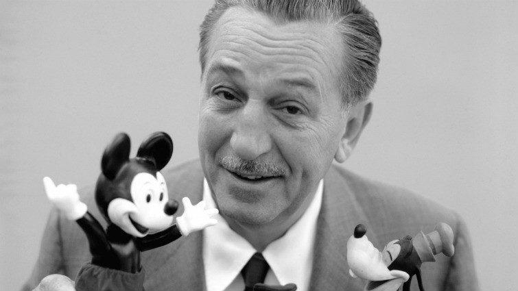 Walt Disney 115 éve született