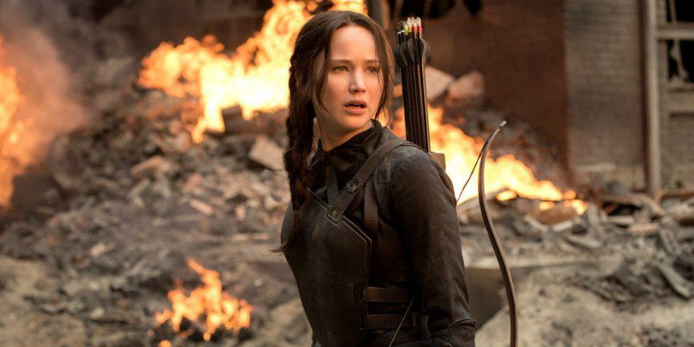 Jennifer Lawrence - Éhezők viadala: A kiválasztott