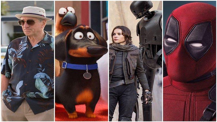 A 20 legnézettebb film 2016-ban