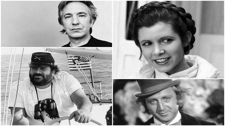 30 filmsztár, akiktől 2016-ban búcsúzott el végleg a filmvilág