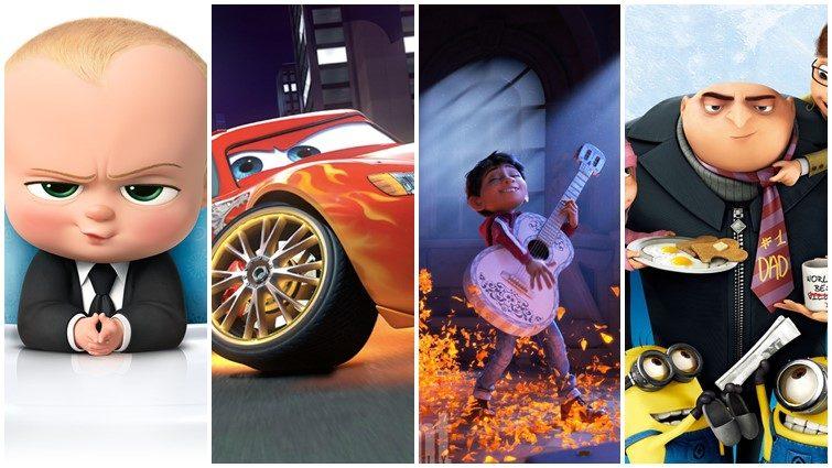 A 12 legjobban várt animációs mese 2017-ben