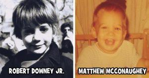 A mai filmvilág legnagyobb sztárjai végtelenül cukik voltak gyerekként