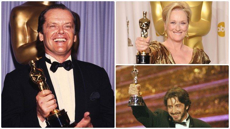 12 színész, akik a legtöbb Oscar-jelöléssel rendelkeznek