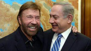 Chuck Norris Natanjahuval találkozott