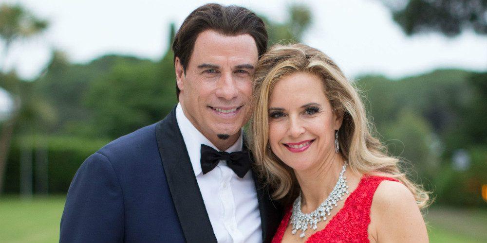 John Travolta és Kelly Preston