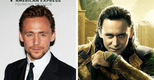 Tom Hiddleston alias Loki