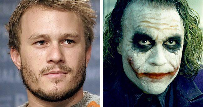 Heath Ledger alias Joker