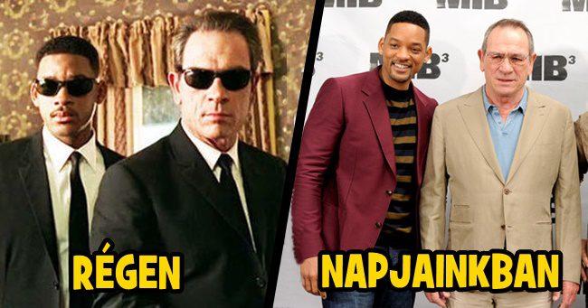 Így néznek ki a Men in Black sztárjai napjainkban!