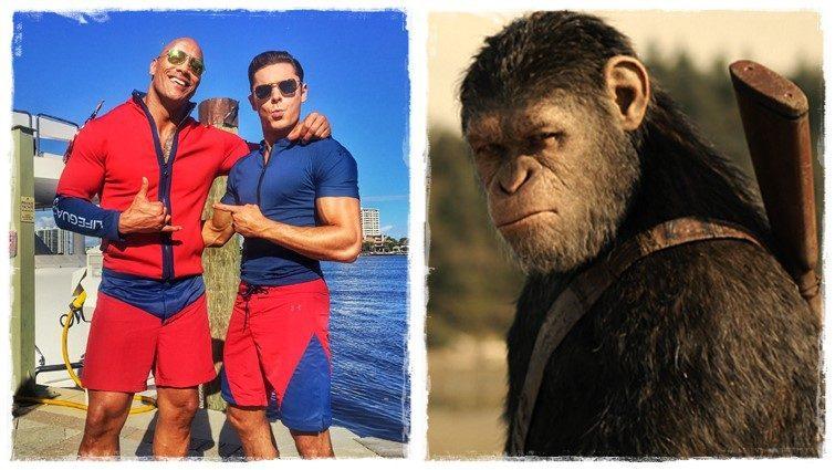 Heti mozibemutatók (2017.07.13-tól) – Dwayne Johnson és a majmok!