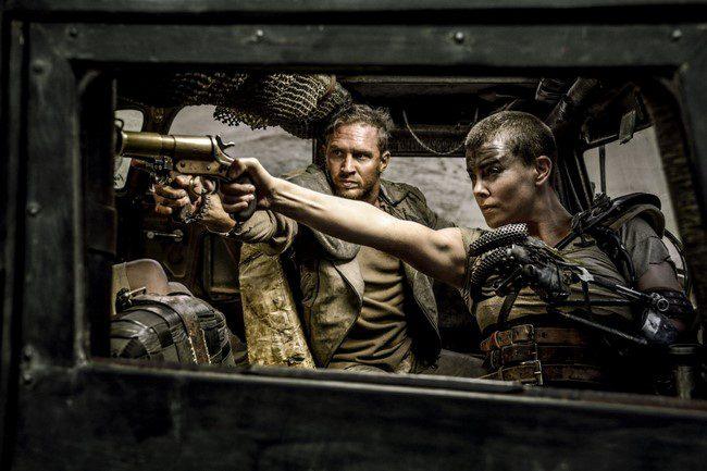 4)Charlize Theronés Tom Hardy- Mad Max: A harag útja (2015)