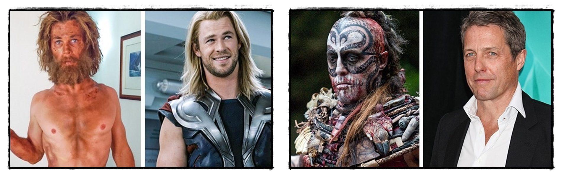 Színészek és elképesztő átalakulásaik