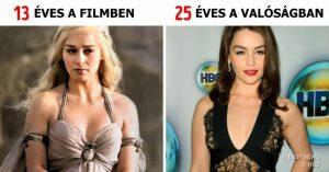 12 színész, aki zseniálisan átalakult egy sokkal fiatalabb karakterré