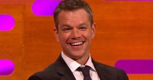 Matt Damon azt hitte, átverőshow-ban szerepel