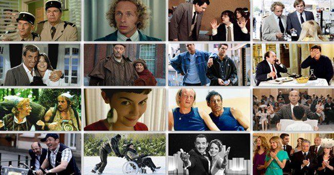 Az elmúlt évtizedek kiemelkedő francia vígjátékai