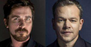 Christian Bale és Matt Damon együtt győzi le a Ferrarit