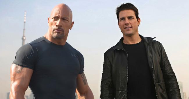 Tom Cruise és Dwayne Johnson szívesen akciózna együtt