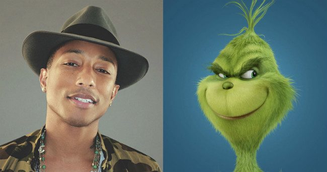 Pharrell Williams komponálja A Grincs főcímdalát