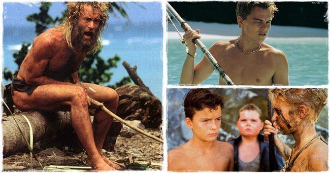 A 10 legjobb film, amely egy lakatlan szigeten játszódik