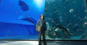 Lélegzetelállító videón az Aquaman trükkjei
