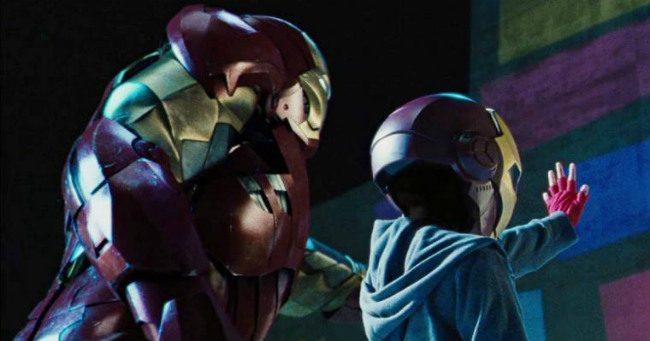 Peter Parker már a Vasember 2-ben felbukkant!