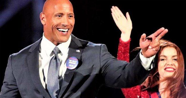 Mégis elnök lehet Dwayne Johnsonból?