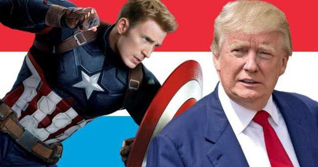 Amerika Kapitány páros lábbal szállt bele az aktuálpolitikába