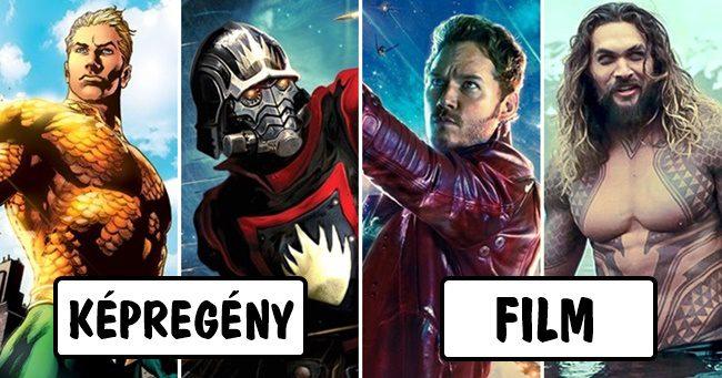 Hogy kéne kinézniük a DC és Marvel hősöknek a képregények alapján?