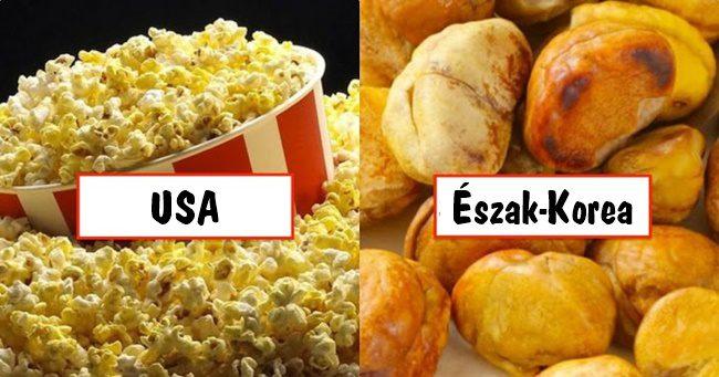 Ételkülönlegességek, amiket a világ népei fogyasztanak a moziban