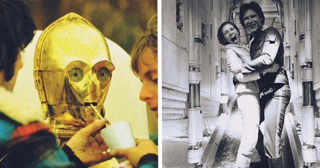 27 elképesztő kulisszafotó a legelső Star Wars filmről