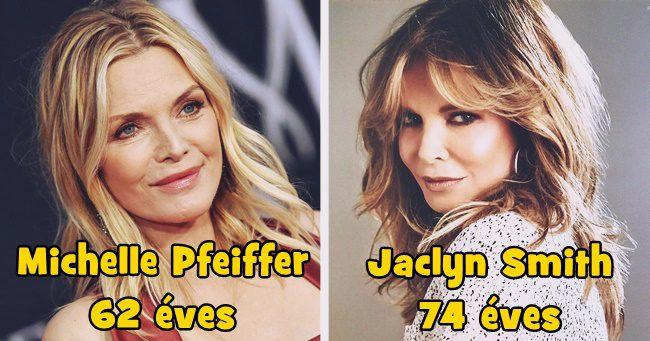 15 bájos színésznő, aki 50 felett is csúcsformában van