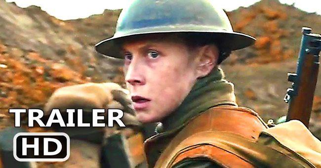 Megérkezett Sam Mendes 1917 című háborús filmjének új, magyar szinkronizált előzetese
