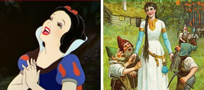 Disney történetek valós történet alapján