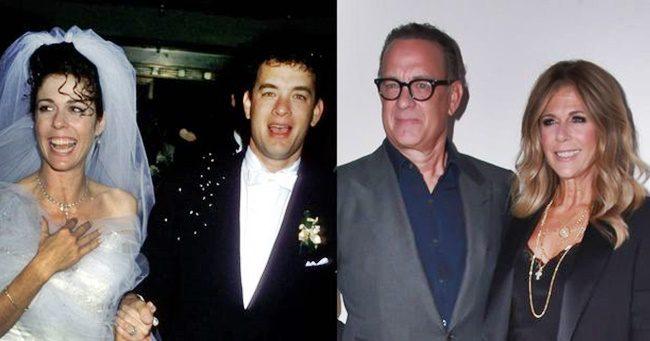 Tom Hanks 32 éve tartó házasságát egy lelkész mentette meg
