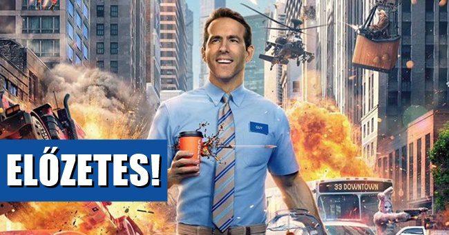 Ryan Reynolds főszereplésével itt a Free Guy első előzetese!