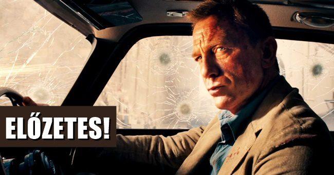 Befutott a legújabb James Bond-film magyar szinkronos filmelőzetese!