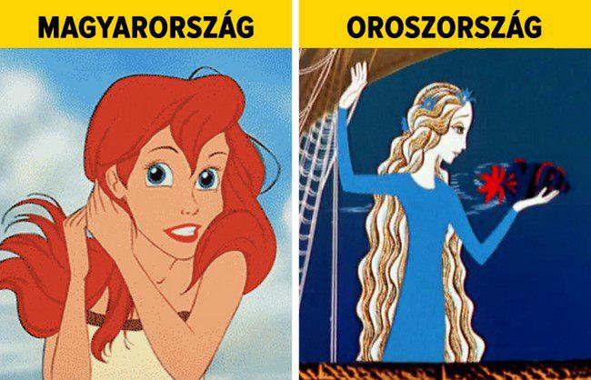 Így néznek ki kedvenc rajzfilmjeink a világ más országaiban