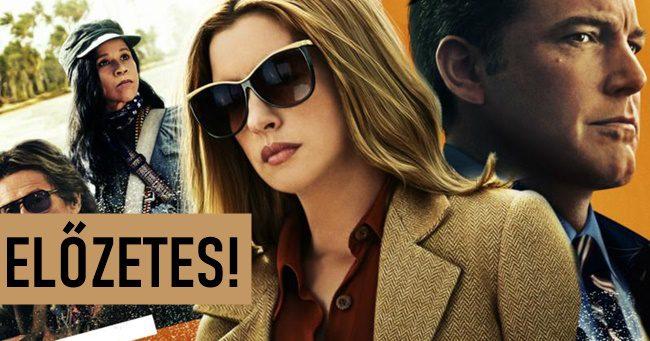 Előzetest kapott Anne Hathaway és Ben Affleck közös filmje!