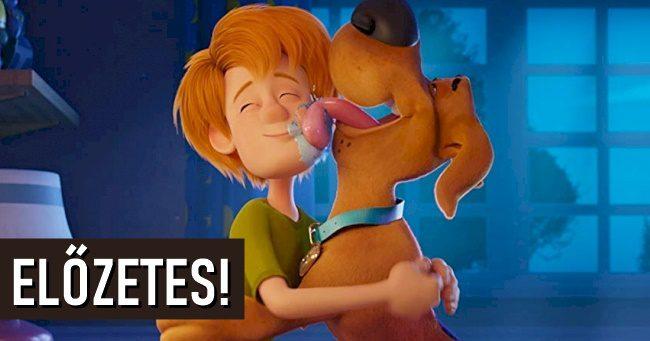 Befutott a Scooby legújabb magyar nyelvű filmelőzetese!