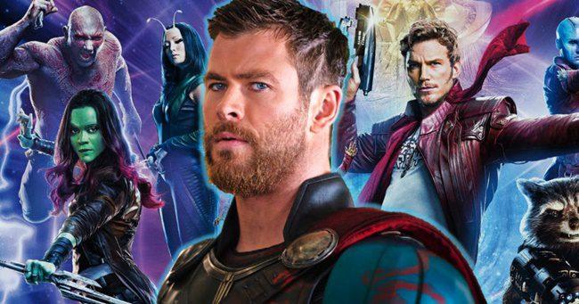 A galaxis őrzői csapatával jön a Thor 4!