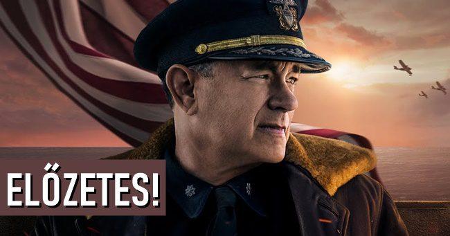 Tom Hanks főszereplésével befutott a Greyhound első filmelőzetese!