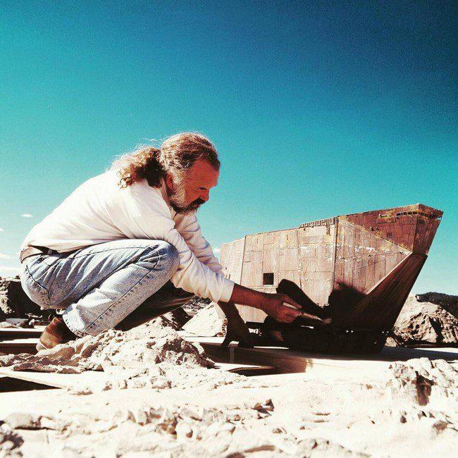 15 látványos kulisszafotó a Csillagok Háborúja filmek forgatásairól