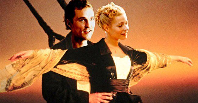 Nem sokon múlott, hogy Matthew Mcconaughey és Gwyneth Paltrow legyen a Titanic főszereplő párosa