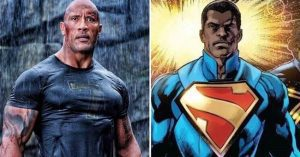 Dwayne Johnson fekete Supermanről álmodik