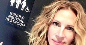 Julia Roberts is beszállt az LMBTQ kampányba, a nemsemlegesség ügye mellé állt