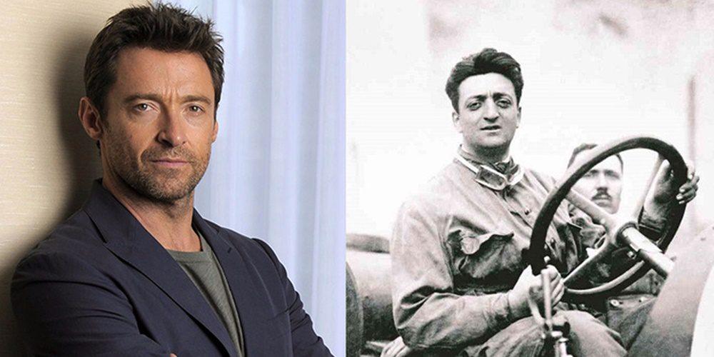 Hugh Jackman lehet Enzo Ferrari!