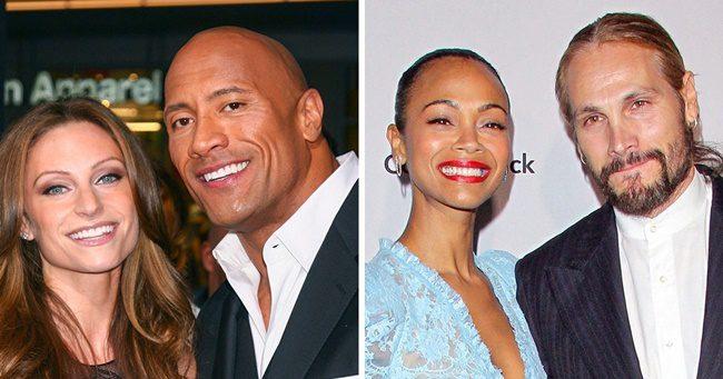15 híresség, akik a Hollywoodi társkeresés helyett átlagos embereket választottak maguk mellé