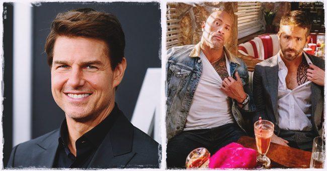 Tom Cruise is csatlakozott Dwayne Johnson és Ryan Reynolds közös mozijához!
